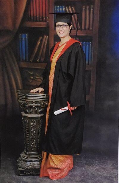 Pushpamala N., 'Graduate', 2007