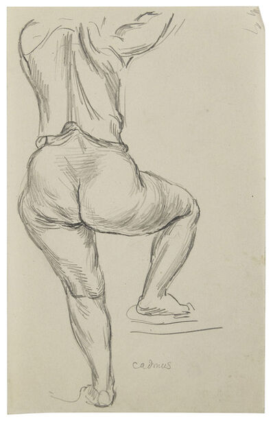 Paul Cadmus, 'Woman from Behind (Leg Raised)', n.d.
