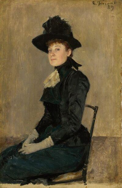 Émile Friant, 'Madame Seymour', 1889