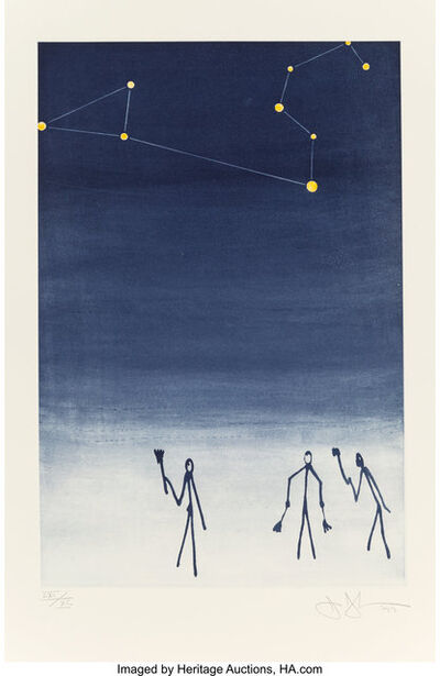 Jasper Johns, 'Leo, from Leo Castelli 90th Birthday', 1997