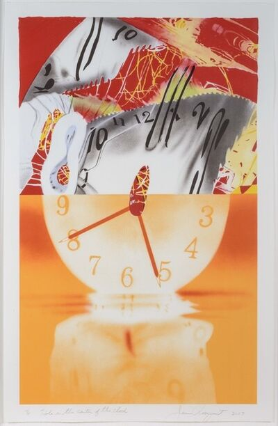 James Rosenquist, 'The Hole in the Center of the Clock', 2007