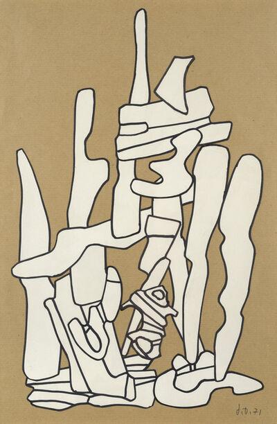 Jean Dubuffet, 'Monument', 1971