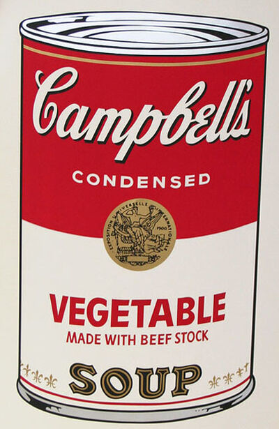 Andy Warhol, 'Campbell's Soup I, II.48 Vegetable Made with Beef Stock', 1968