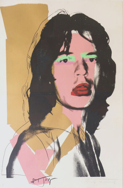Andy Warhol, 'Mick Jagger (FS II.143) ', 1975