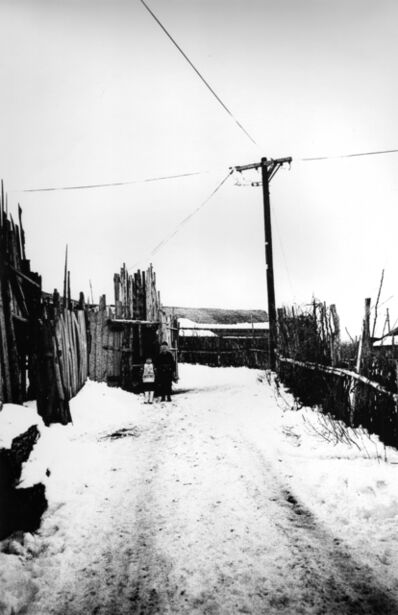 Kazuo Kitai, 'Utility Pole, Tsugaru (Somehow Familiar Places series)', 1972