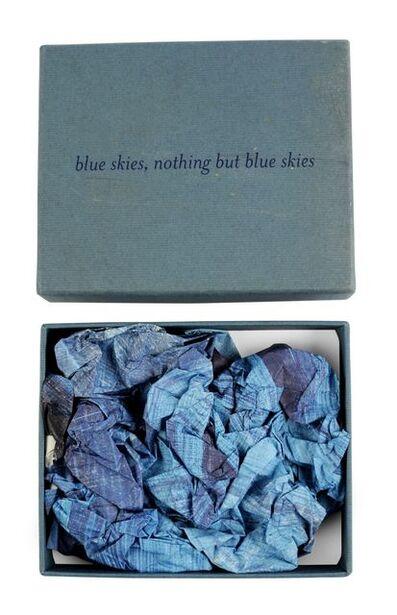Howard Hodgkin, 'Blue Skies, Nothing but Blue Skies (Momart Christmas Card)', 2002