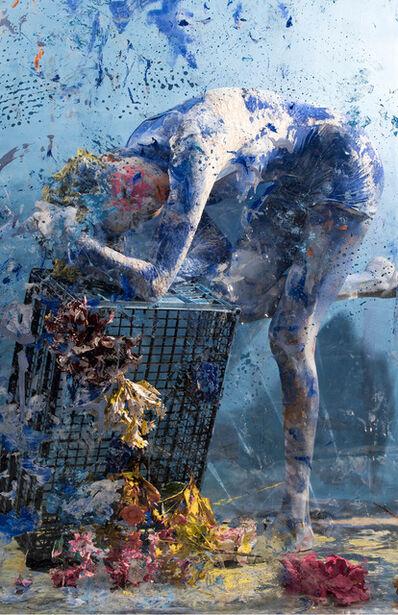 Vicky Steckel, 'Falling Blue 01', 2016
