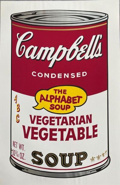 Andy Warhol, 'Campbell's Soup II, Vegetarian Vegetable F&S II.56', 1969