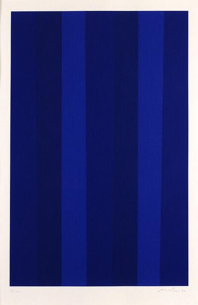 Guido Molinari, 'Quantificateur (bleu) - GM-S-80-q-03', Not dated