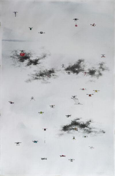 Micha Payer + Martin Gabriel, 'Drohnen #25', 2019
