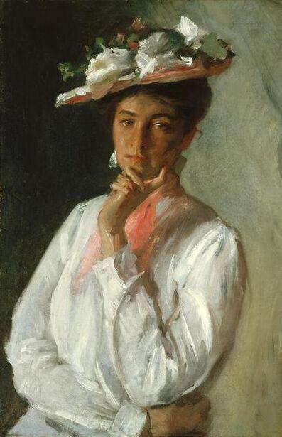 William Merritt Chase, 'Woman In White', summer 1902