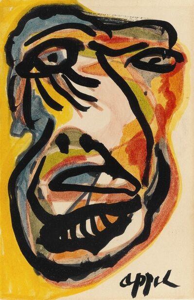 Karel Appel, 'Portrait'