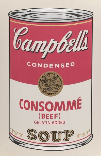 Andy Warhol, 'Campbell's Soup I (Consomme)', 1968