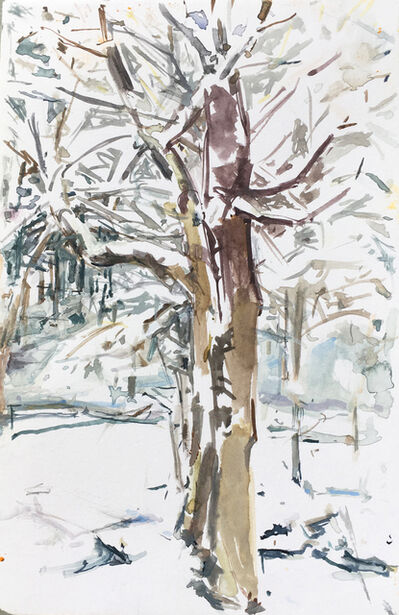 Rita Baragona, 'Heavy Snow', 2014