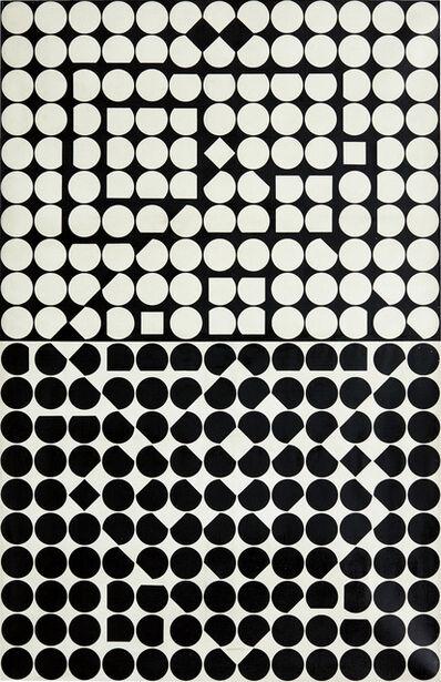 Victor Vasarely, 'Andromeda-NEG', 1960