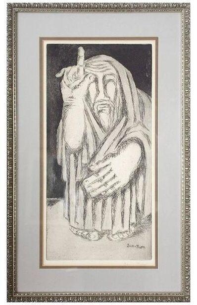 Ben-Zion Weinman, 'Biblical Prophet', Mid-20th Century