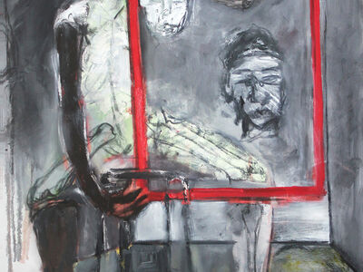 BUTCHECA ( Moises Ernesto Matsinhe Mafuiane ), 'Mirror of a portrait', 2019