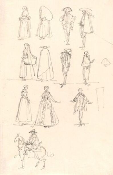 Luis Paret y Alcázar, 'Historical Costumes', 1780