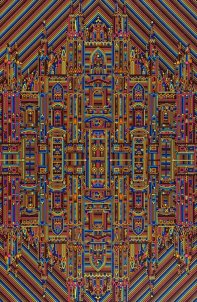 Lu Xinjian 陆新建, 'Reflections / Duomo Externus', 2019
