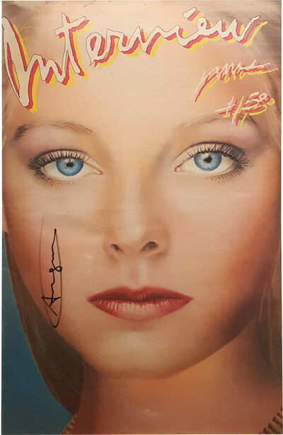 After Andy Warhol, 'Andy Warhol Interview Magazine (Jodie Foster Cover), Vol. X No. 6', Sept. 1980