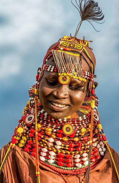Carol Beckwith and Angela Fisher, 'Turkana Girl, Kenya', 2014