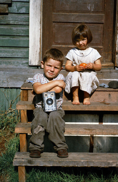 Fred Herzog, 'Boy with Box Camera', 1960