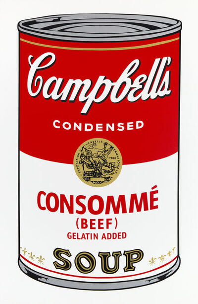 After Andy Warhol, 'Campbell's Soup Can 11.52', 2018