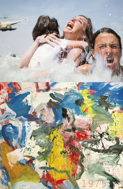 Bonnie Lautenberg, '1975, Jaws-Willem De Kooning, Untitled V', 2018
