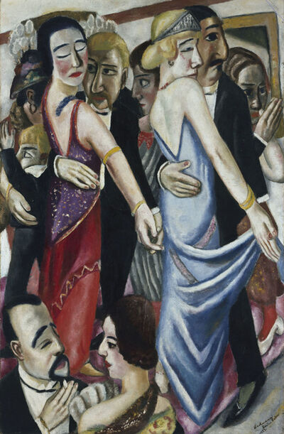 Max Beckmann, 'Dance in Baden-Baden (Tanz in Baden-Baden)', 1923
