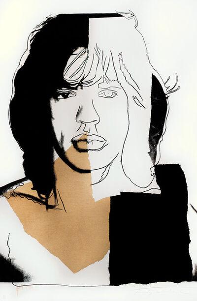 Andy Warhol, 'Mick Jagger (FS II.146)'