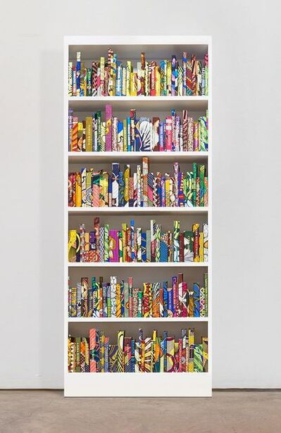 Yinka Shonibare CBE, 'The American Library Collection (Philanthropists)', 2019