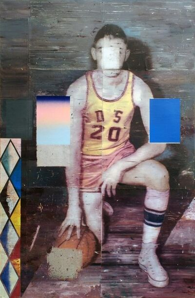 Cristiano Tassinari, 'Basketball Player', 2014/2017