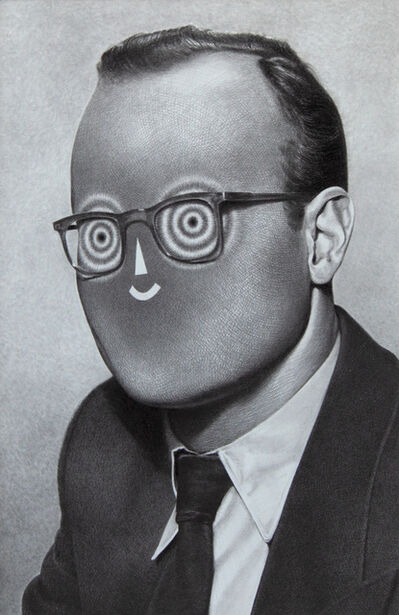 Raymond Lemstra, 'Man with glasses', 2018