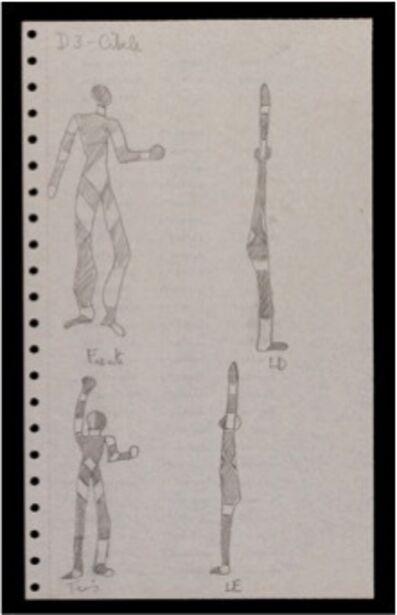 Analivia Cordeiro, 'CAMBIANTES COSTUME FOR THE DANCER CVBELE', 1976