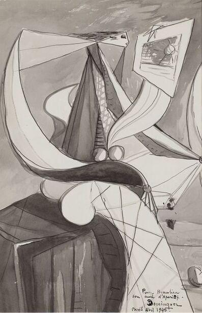 Óscar Domínguez, 'Femme', 1945