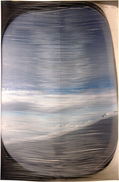 Golnar Adili, 'Airplane Window-Interlaced', 2011