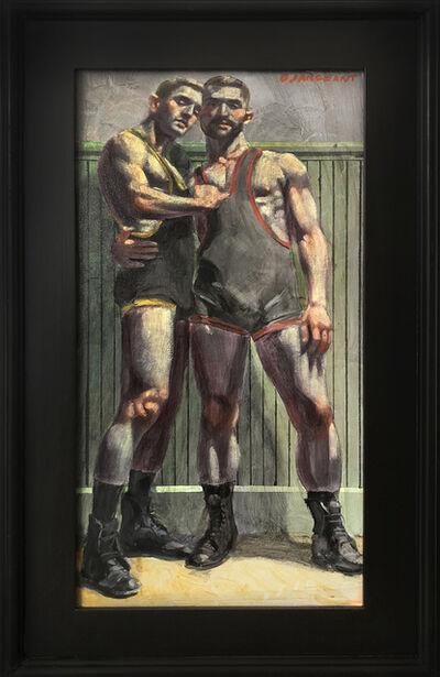 Mark Beard, 'Teammates in Singlets', n.d.