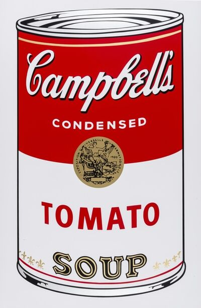After Andy Warhol, 'Campbell's Soup I (Sunday B. Morning)'