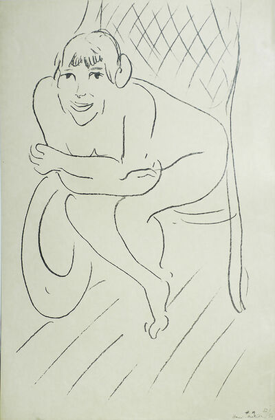 Henri Matisse, 'Nude in a Rocking Chair (Nu au Rocking Chair)', 1913