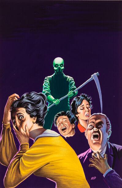 'Untitled (Grim reaper figure terrifying several people)', c. 1960-75