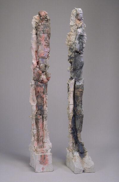 Stephen De Staebler, 'Figure Column XIV & Figure Column XV', 2002