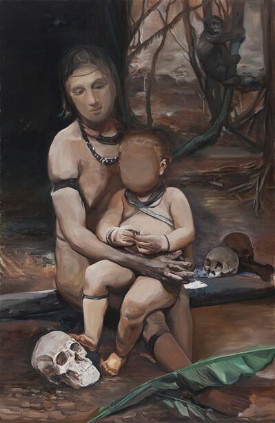 Wang Zhibo 王之博, 'Mother and Son ', 2015