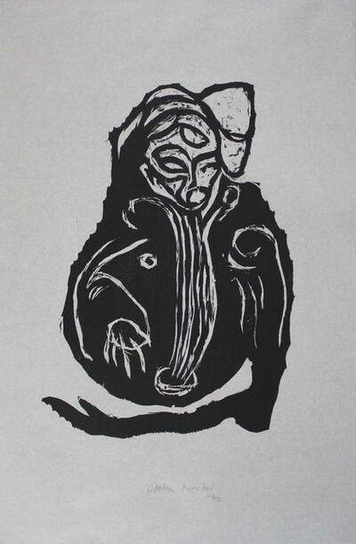 Carsten Nicolai, 'Im Inneren frisst das Helle das Dunkle III', 1992