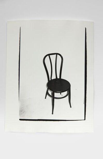 Andy Warhol, 'Chair', 1980