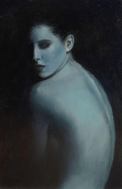 Kristen Santucci, 'Blue Nude (Postcard)', 2021