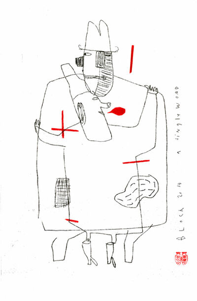 Serge Bloch, 'A Single Word', 2017