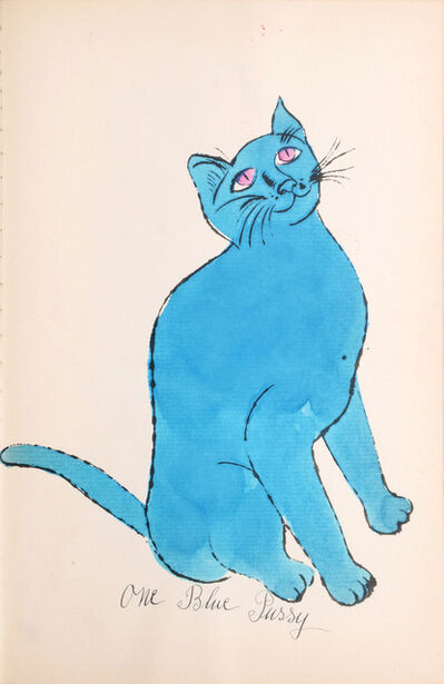 Andy Warhol, '25 Cats Name[d] Sam and One Blue Pussy IV.68', 1954