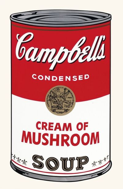 Andy Warhol, 'Campbell's Soup I: Cream of Mushroom', 1968