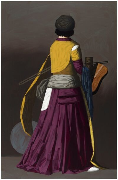 Lauri Laine, 'Purple Figure', 2017