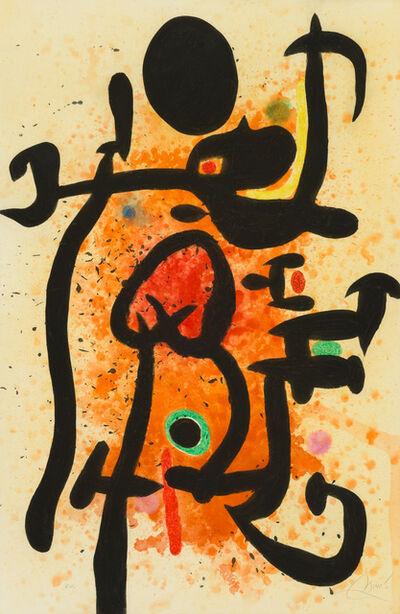 Joan Miró, 'Le Cracheur de Flammes', 1974